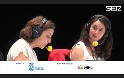 Entrevista de Pepa Bueno (Cadena Ser) a la investigadora Mariló Camacho. Especial Hora 25 desde el Gran Teatro de Huelva (1-06-2021).